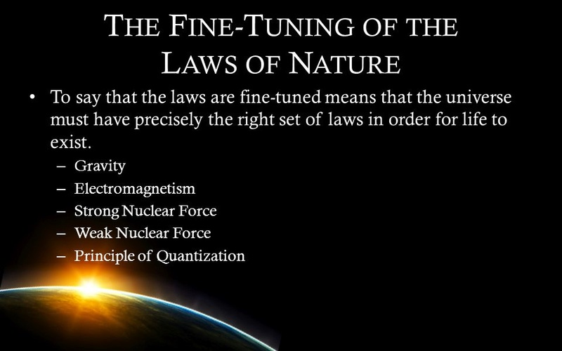 Fine tuning of the Universe Slide_10