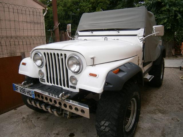 Qu'avez vous fait pour/avec/dans votre jeep aujourd'hui? P6180012