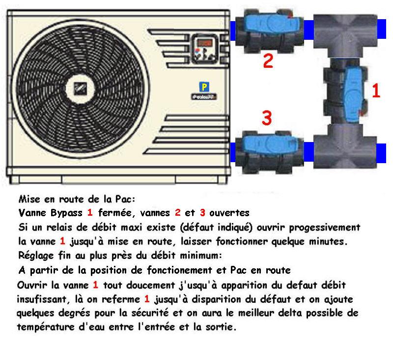 Branchement électrique Pac poolex dreamline 95 Bypass10