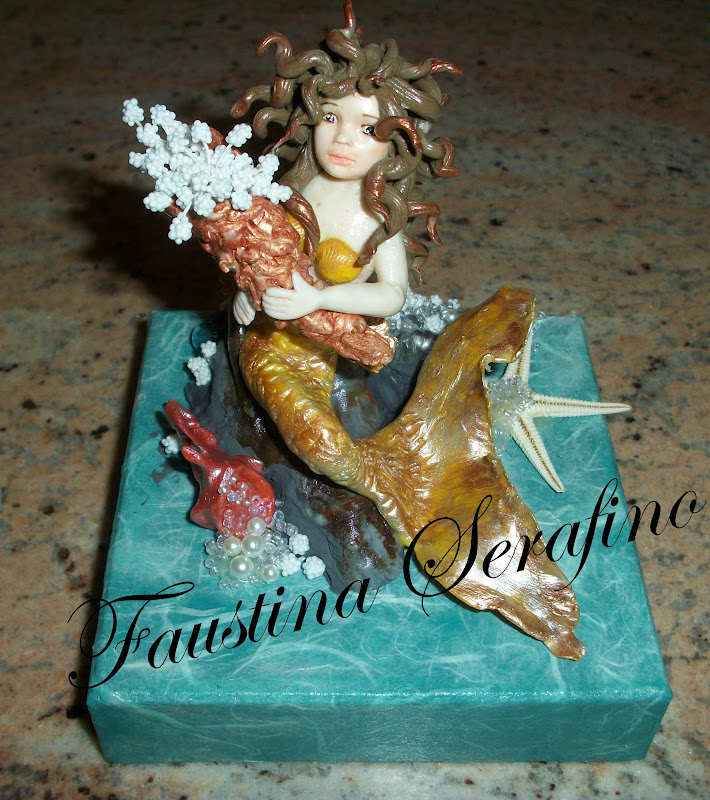 Nuova sirena in porcellana fredda 100_6813