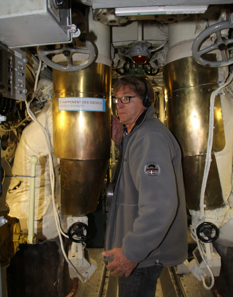 [Les Musées en rapport avec la Marine] Sous-Marin  Flore - Page 11 La_flo33