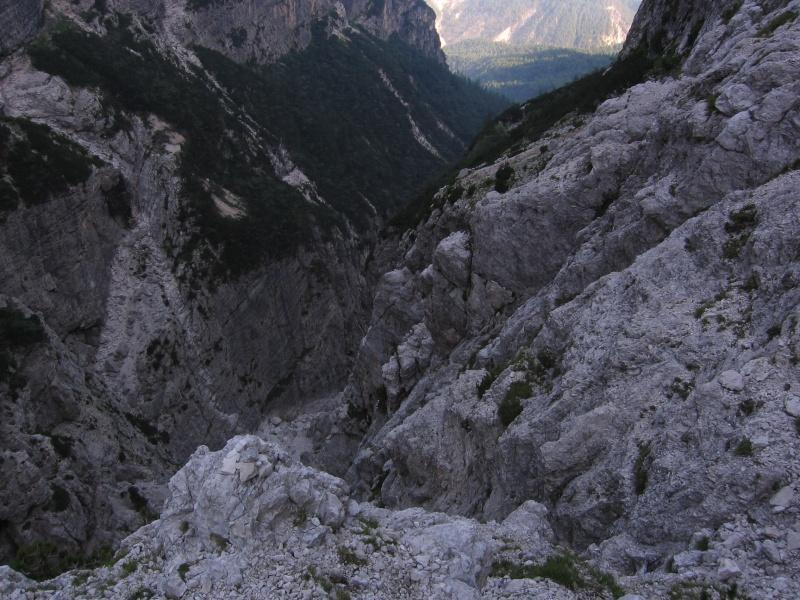 Jof di Montasio, Via di Dogna 1310