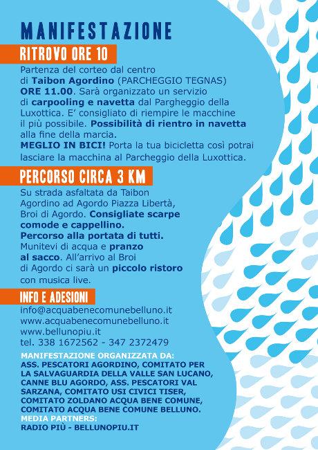 """""""Come un fiume per i fiumi"""" 28 luglio 2013 Valle di San Lucano Come-u11"""