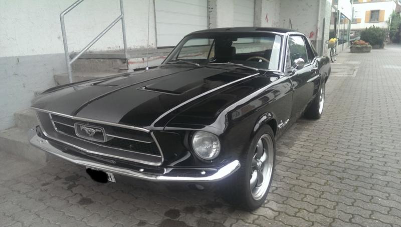 Erwischt! Ein Ford Mustang Imag2312