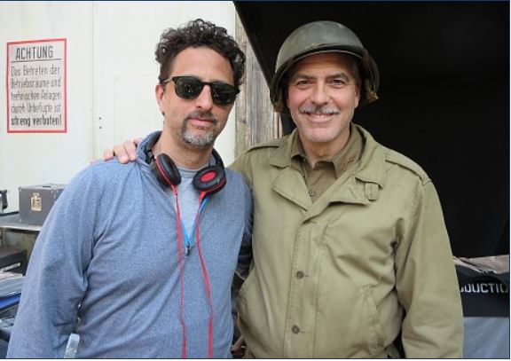 Hollywood Elsewhere journalist visits set of The Monuments Men Monume10