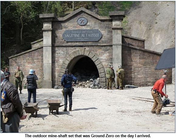 Hollywood Elsewhere journalist visits set of The Monuments Men Monume11