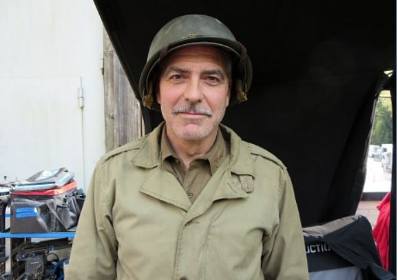 Hollywood Elsewhere journalist visits set of The Monuments Men Monume13