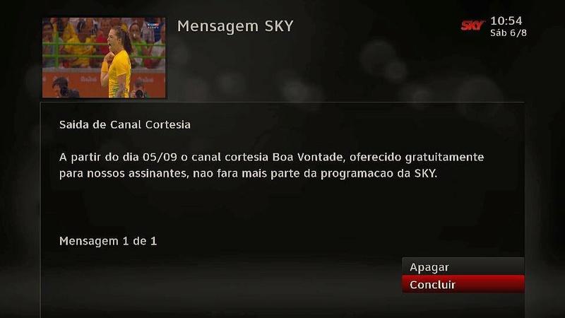 Canal Boa Vontade sairá da grade da SKY 13906610