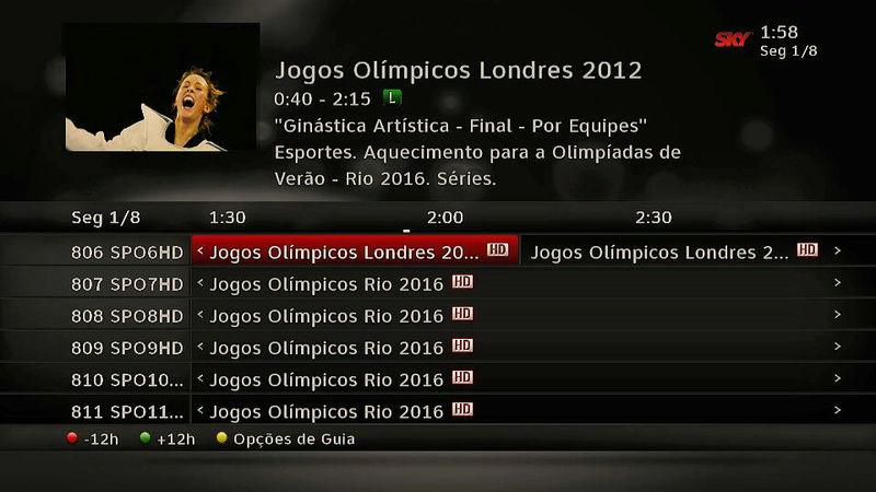 Os canais SporTV, especiais para a Olimpíada, já estão no ar! 510