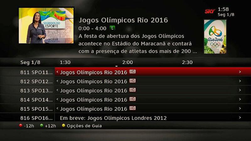 Os canais SporTV, especiais para a Olimpíada, já estão no ar! 610