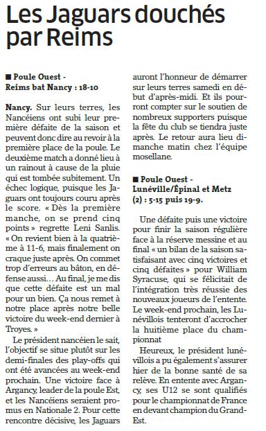 12 juin 2016 / 3ème journée du CGE-Ouest (Reims1) - Page 2 Baseba10