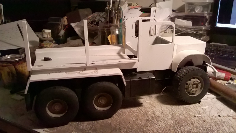Airbrushlers Bruder Truck Build Wp_20112