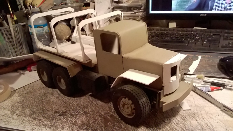 Airbrushlers Bruder Truck Build Wp_20113
