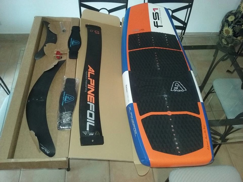 TEST : Alpinefoil carbone + board Freestyle FS1 13707610