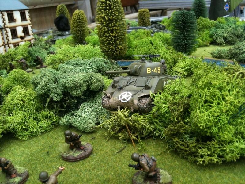 Bataille dans le Bocage Normand - techniques et tactiques Image32