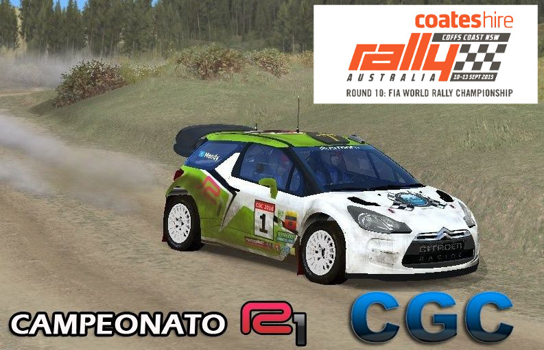 Crónica Rally Australia R1 112