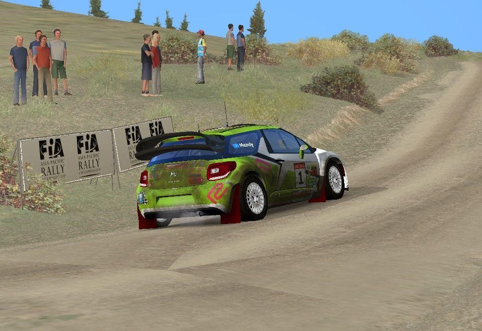 Crónica Rally Australia R1 311