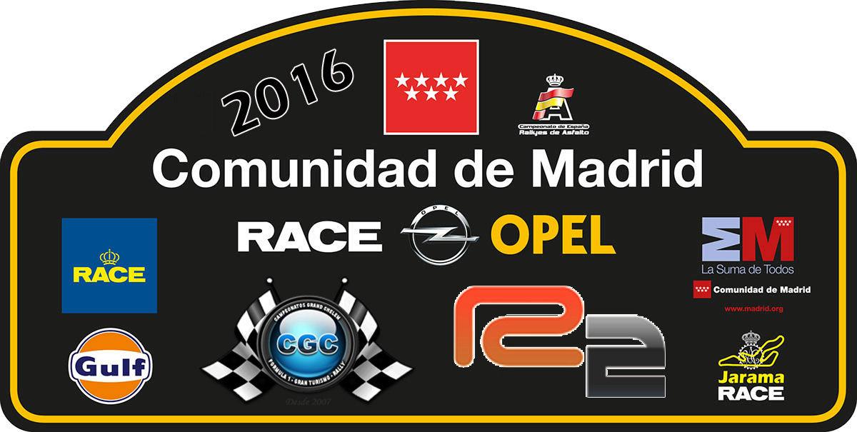 Confirmación para el Shakedown Rally Comunidad de Madrid R2  2016 Logo15
