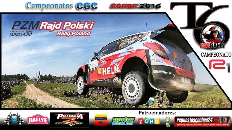 Roadbook Rally Polonia  R1 Logo_r10