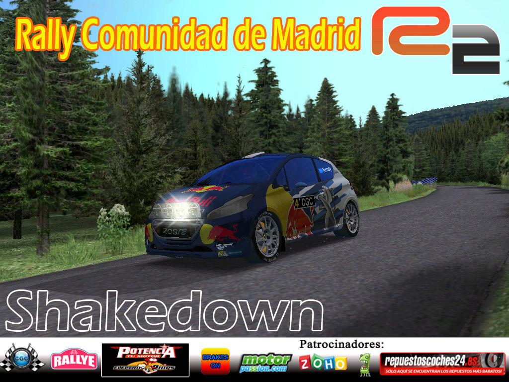 Confirmación para el Shakedown Rally Comunidad de Madrid R2  2016 Logo_r11