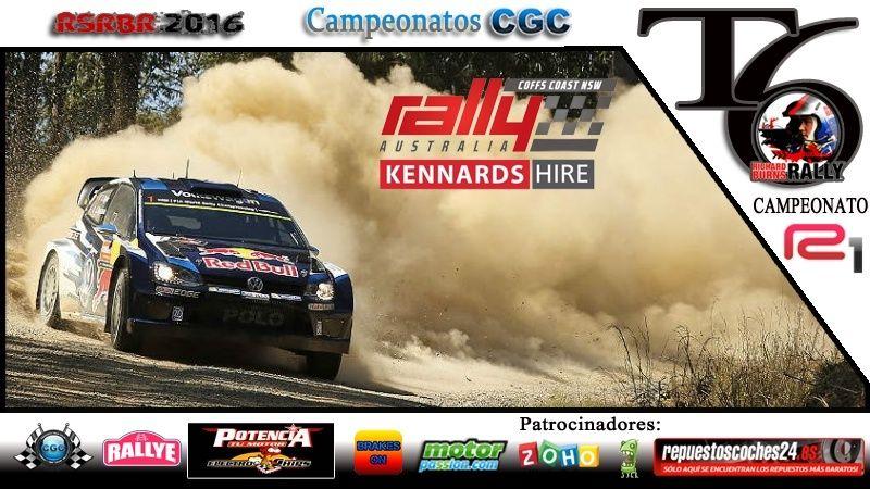 Roadbook Rally Australia  R1 Logora10