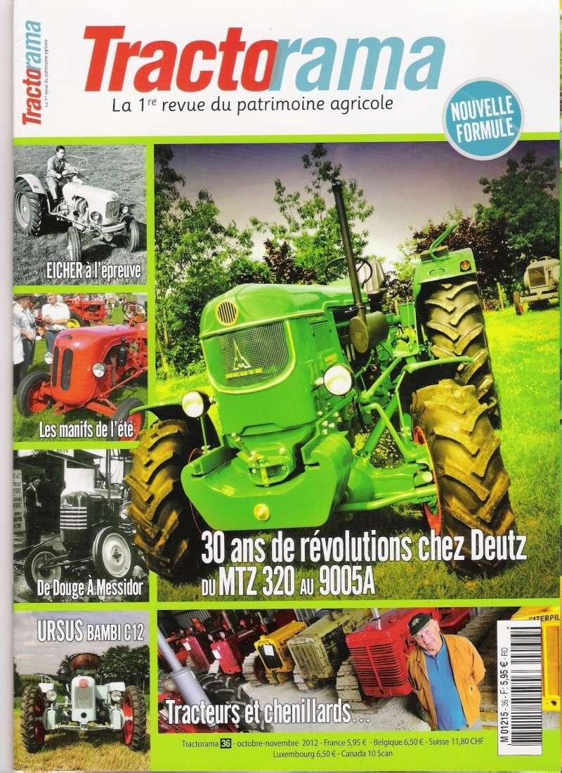 tractorama n° 36 : présentation des MTZ320 et D9005A Tracto10