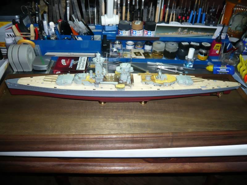Admiral Graf Spee Premium Edition von Academy 1/350 +Zubehör FERTIG - Seite 2 P1040335