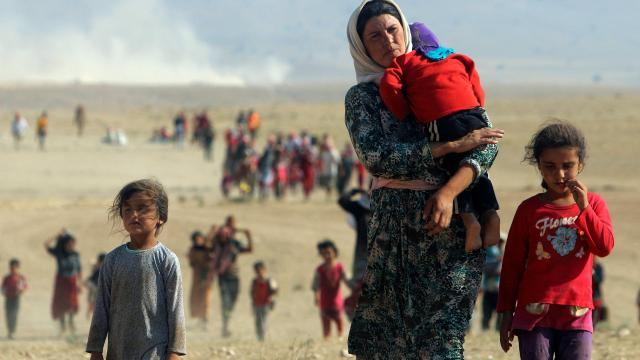 """Yazidis, un """"génocide"""" toujours en cours selon l'ONU Selon-10"""