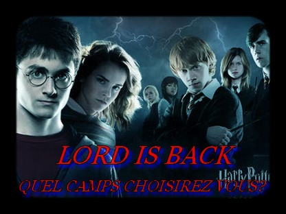 Lord Is Back