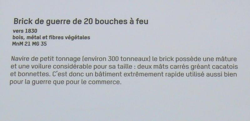 Musée de la Marine de Toulon Maquettes Brick_12