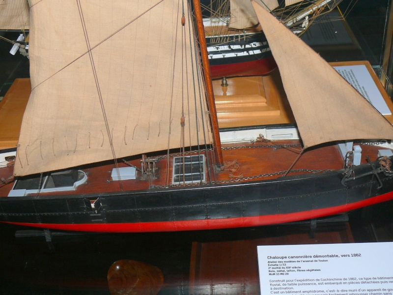 Musée de la Marine de Toulon Maquettes Chalou18