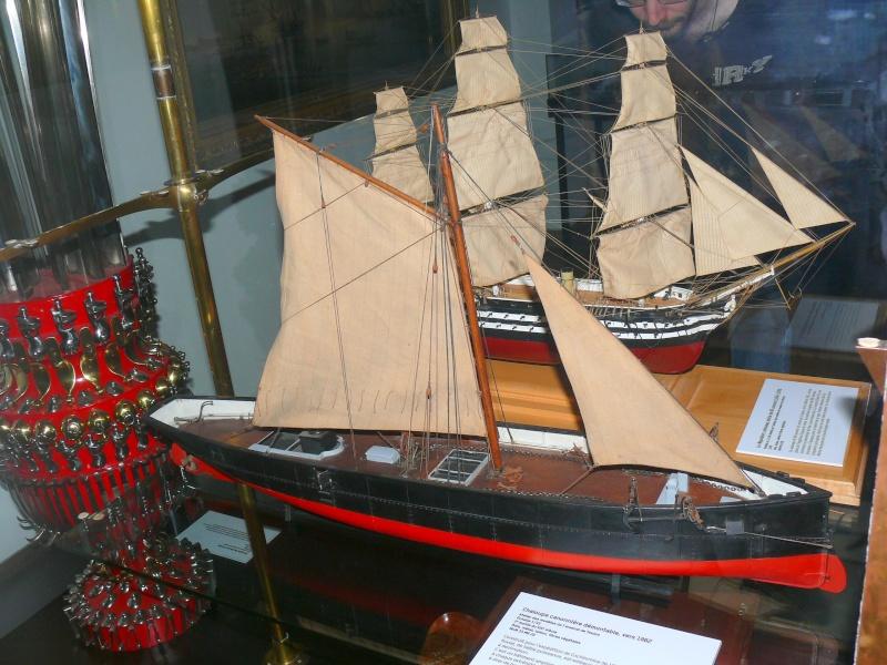 Musée de la Marine de Toulon Maquettes Chalou20