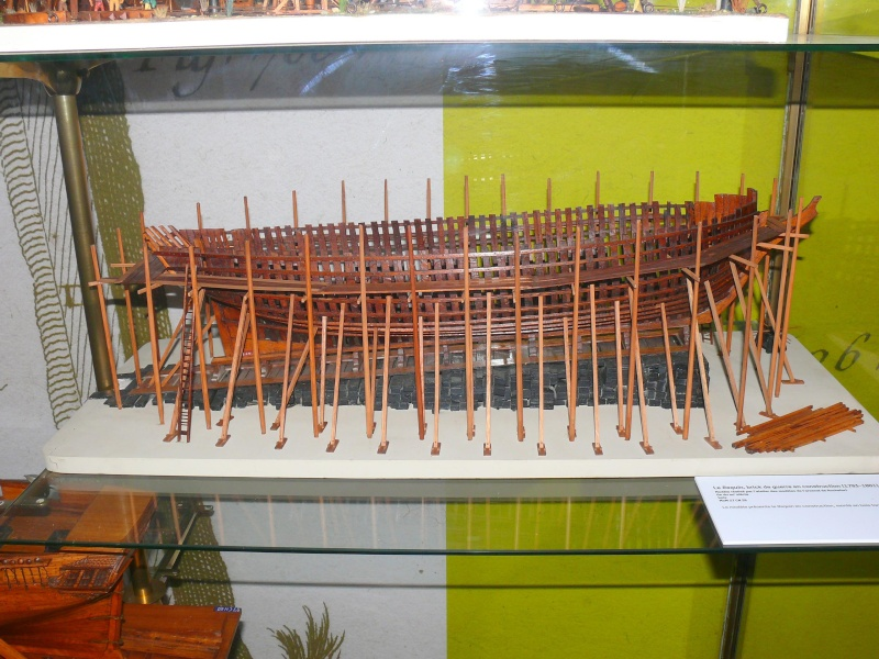 Musée de la Marine de Toulon Maquettes Chanti19