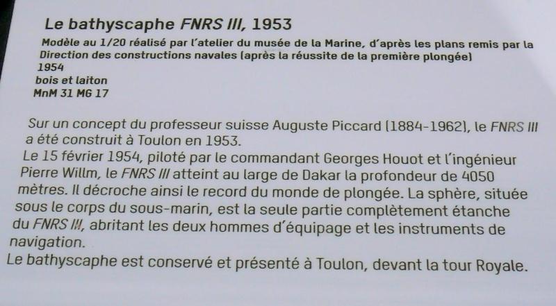 Musée de la Marine de Toulon Maquettes Fnrs_i13