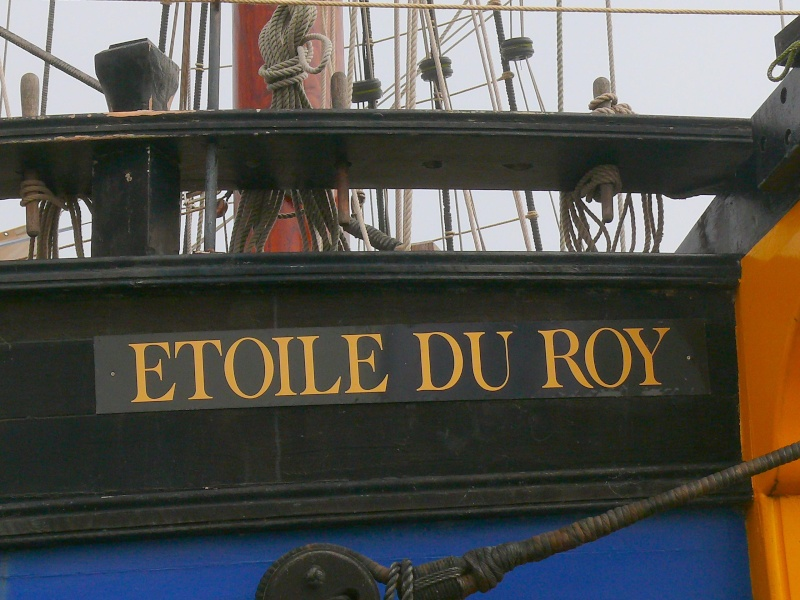 etoile du roy - L'ETOILE DU ROY ex GRAND TURK à quai à SAINT MALO - Page 2 L_eto227
