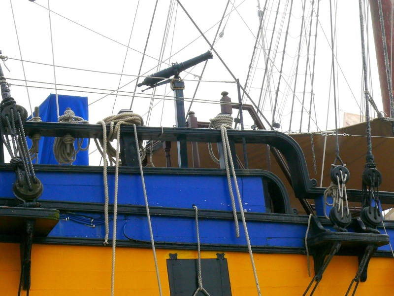 L'ETOILE DU ROY ex GRAND TURK à quai à SAINT MALO L_etoi29