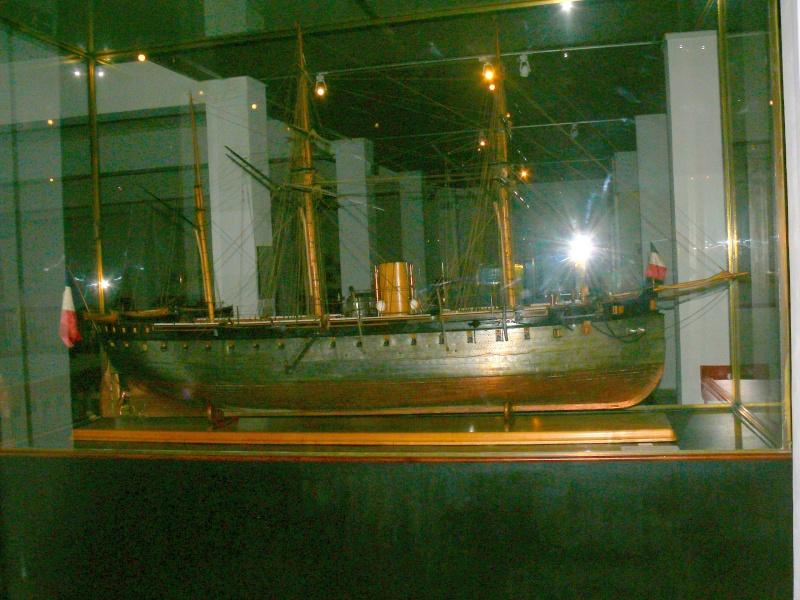 Musée de la Marine de Toulon Maquettes La_fla33