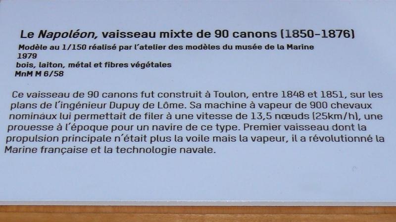 Musée de la Marine de Toulon Maquettes Le_nap13
