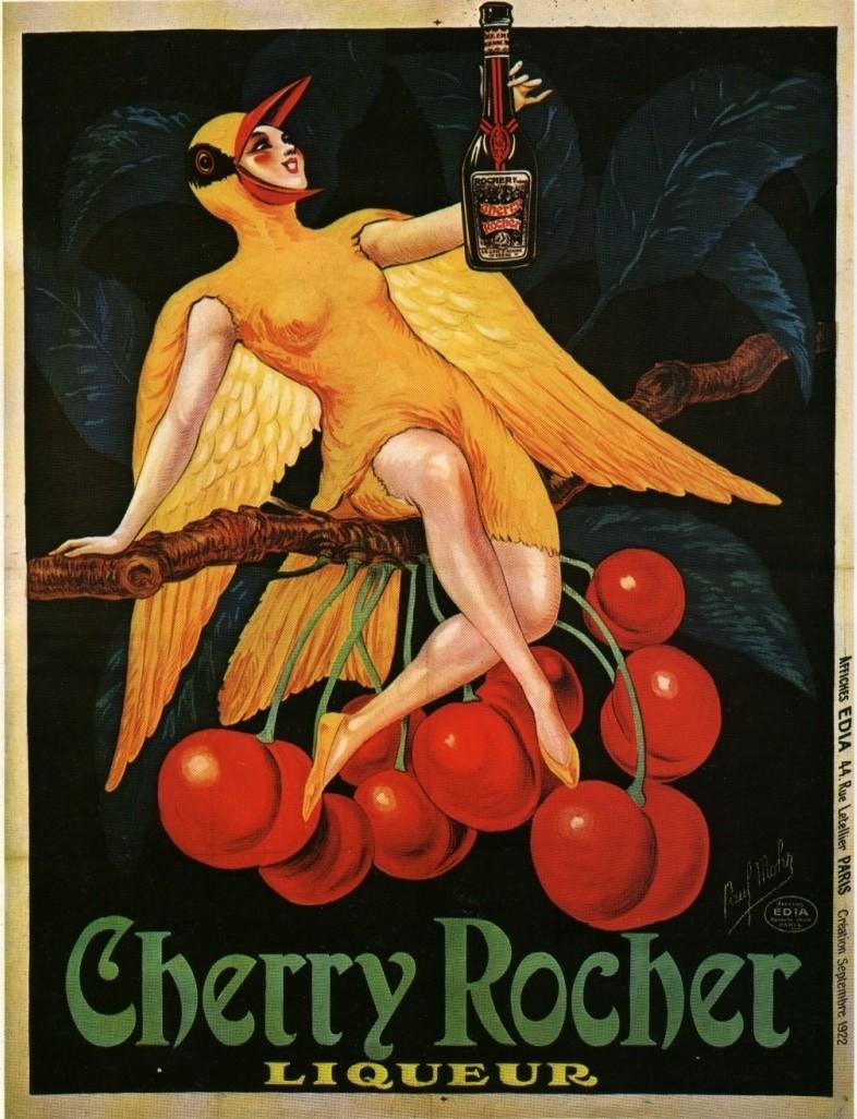 Les affiches du temps passé quand la pub s'appelait réclame .. - Page 38 Cherry10