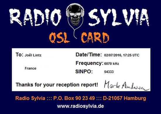 eQSL de Radio Sylvia Qsl_ra10