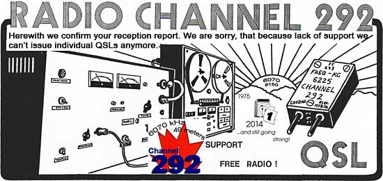 eQSL de Channel 292 Qslcha10