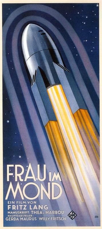 La vision de la pesanteur par Fritz Lang en 1929 Frauu11