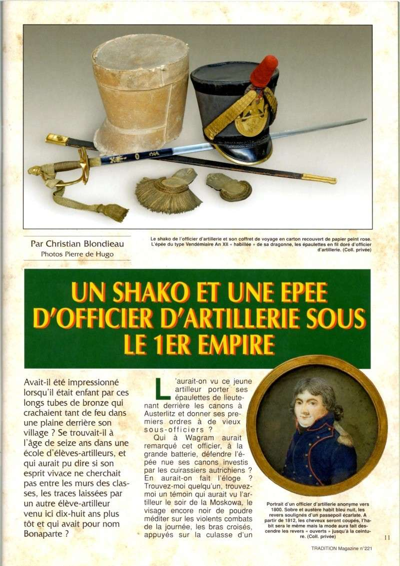 ÉPÉE D'UNIFORME D'OFFICIER, PREMIER EMPIRE. Image030