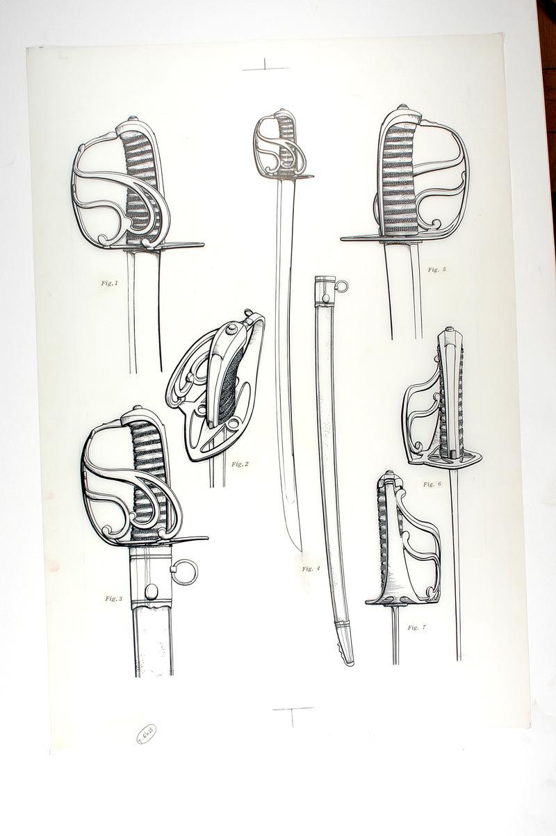 cravatte pour sabre de mineur Sabres10