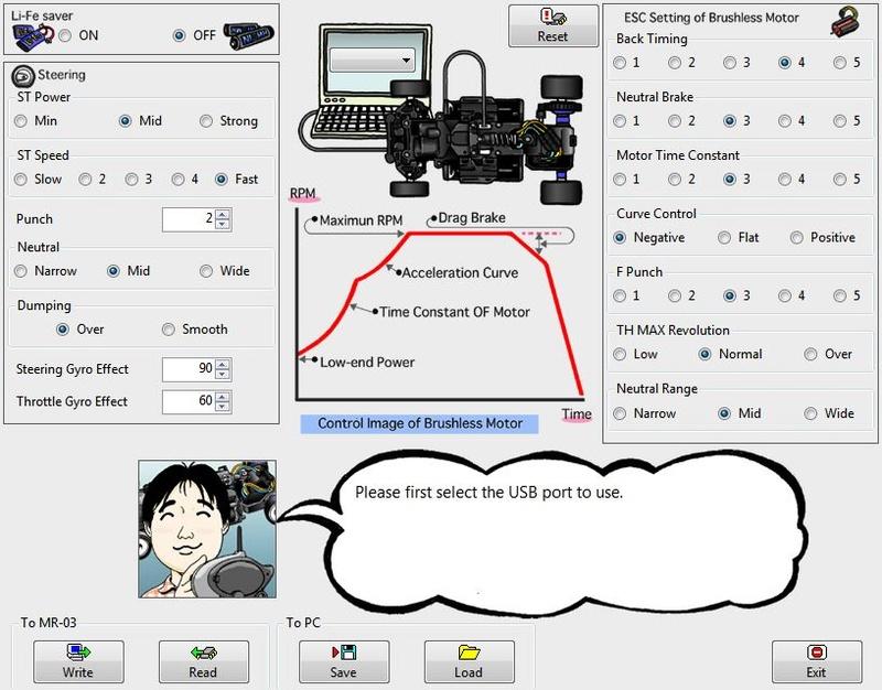 Réglages platine VE avec cable ICS. Qui peut traduire ??? Ryglag10