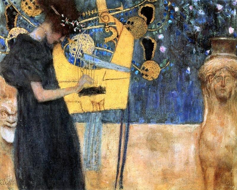 Tableaux de peintres Klimt_10