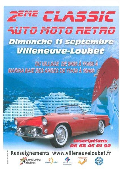 Deuxième Classic Auto Moto Retro Villeneuve Loubet  Ob_62210