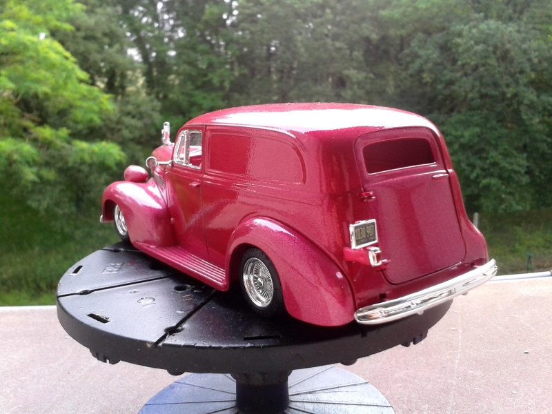 39' Chevy Sedan Delivery Lowrider 2016-010