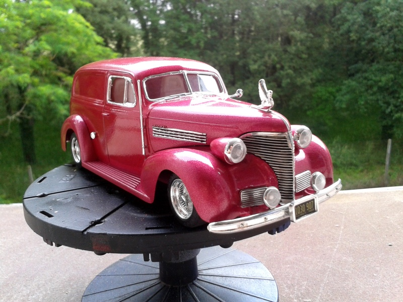 39' Chevy Sedan Delivery Lowrider 2016-013