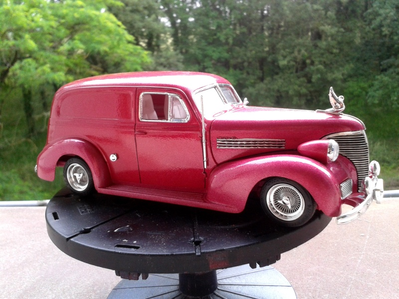 39' Chevy Sedan Delivery Lowrider 2016-015